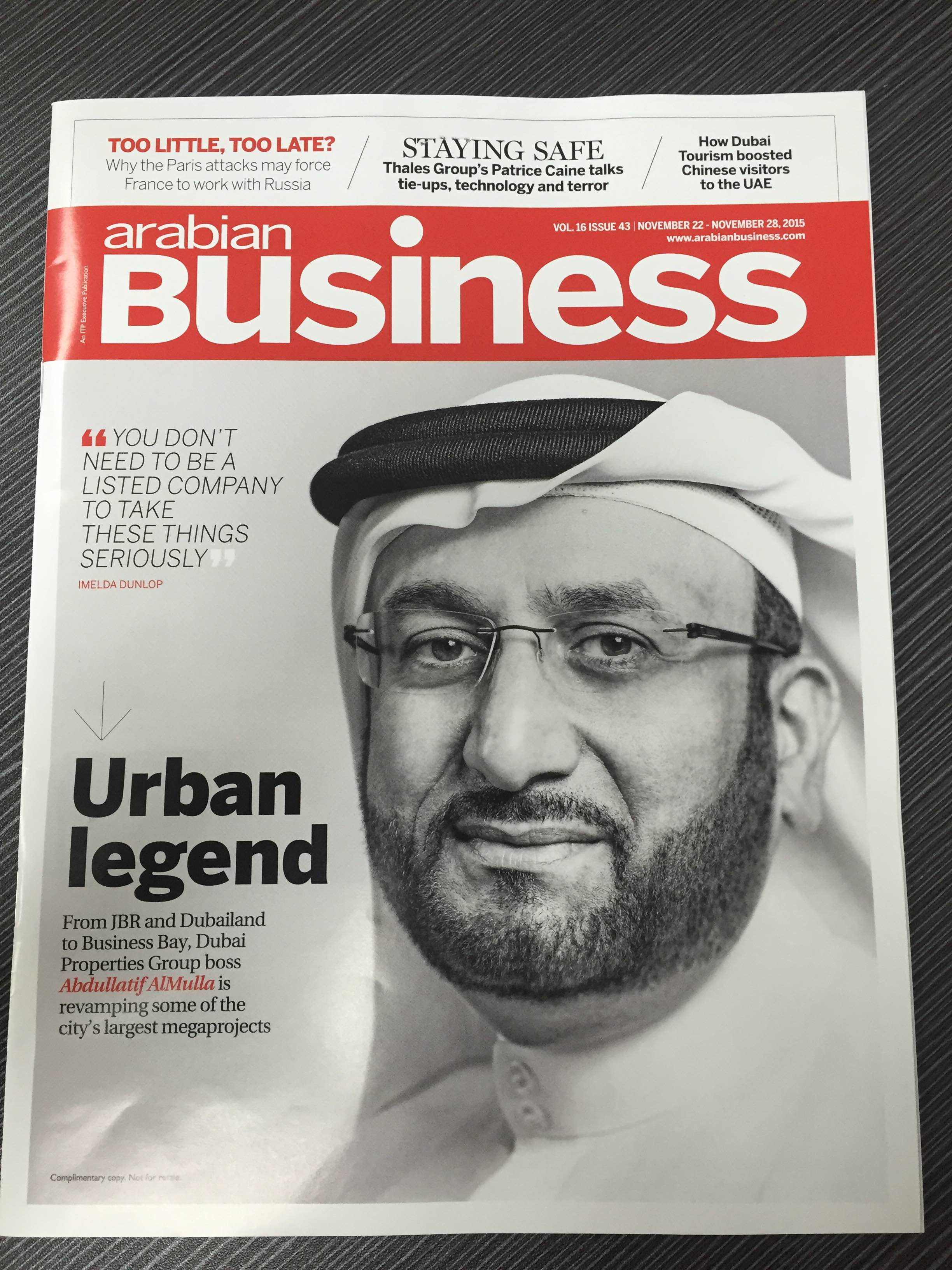 Magazine: Arabian Business
