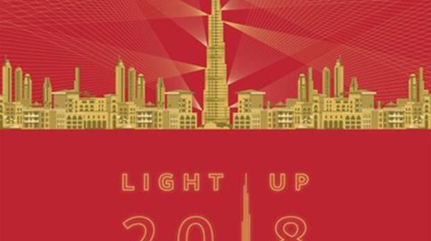 Burj Khalifa celebrates Chinese New Year with 9-day show